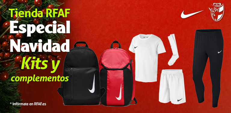 c54a6baa80174 20 12 2018. La Tienda Oficial RFAF celebra la Navidad con nuevos productos.  Nuevos productos como mochilas y camisetas